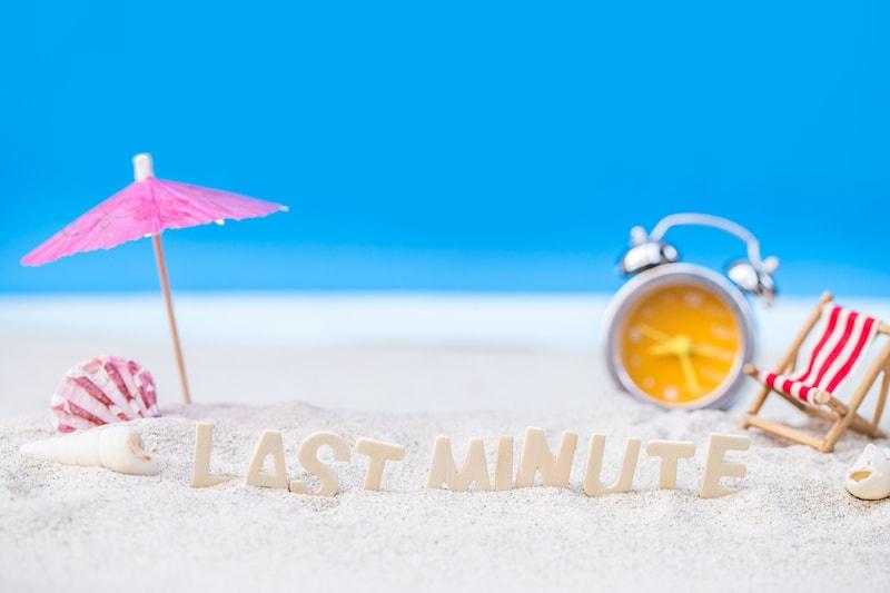 Guide des vacances dernière minute